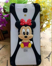 low price Transparent Glitter 3D Liquid custom cell phone cover case for nokia 625 for lg