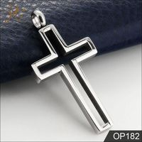 Wholesale Cut Out Hollow Cross Pendant