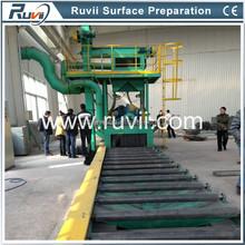 RV69 Automatic Steel Profile Shot Blasting Machine with CE