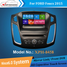 Auto car DVD GPS navigation with TPMS for Ford Focus 2015