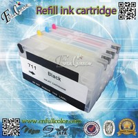 China Ink Cartridge wholesale Refill Ink Cartridge 711 Compatible for T120 T520 Printer