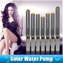 The lastest solar submersible Solar Power pump for agriculture