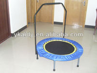40inch quarter fold trampoline with handle bar