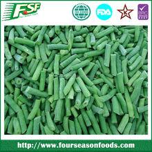 Individual quick frozen green bean Cut / whole