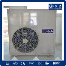 CE,CB, TUV, EN14511 Family sanitary 60deg.C hot water R410A,COP4.2, 220V 3kw,5kw,7kw,9kw dc inverter heat pump split system