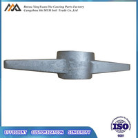 sand casting fcd 45 QT450 ductile iron scaffolding base jact nut with hot dip galvanised