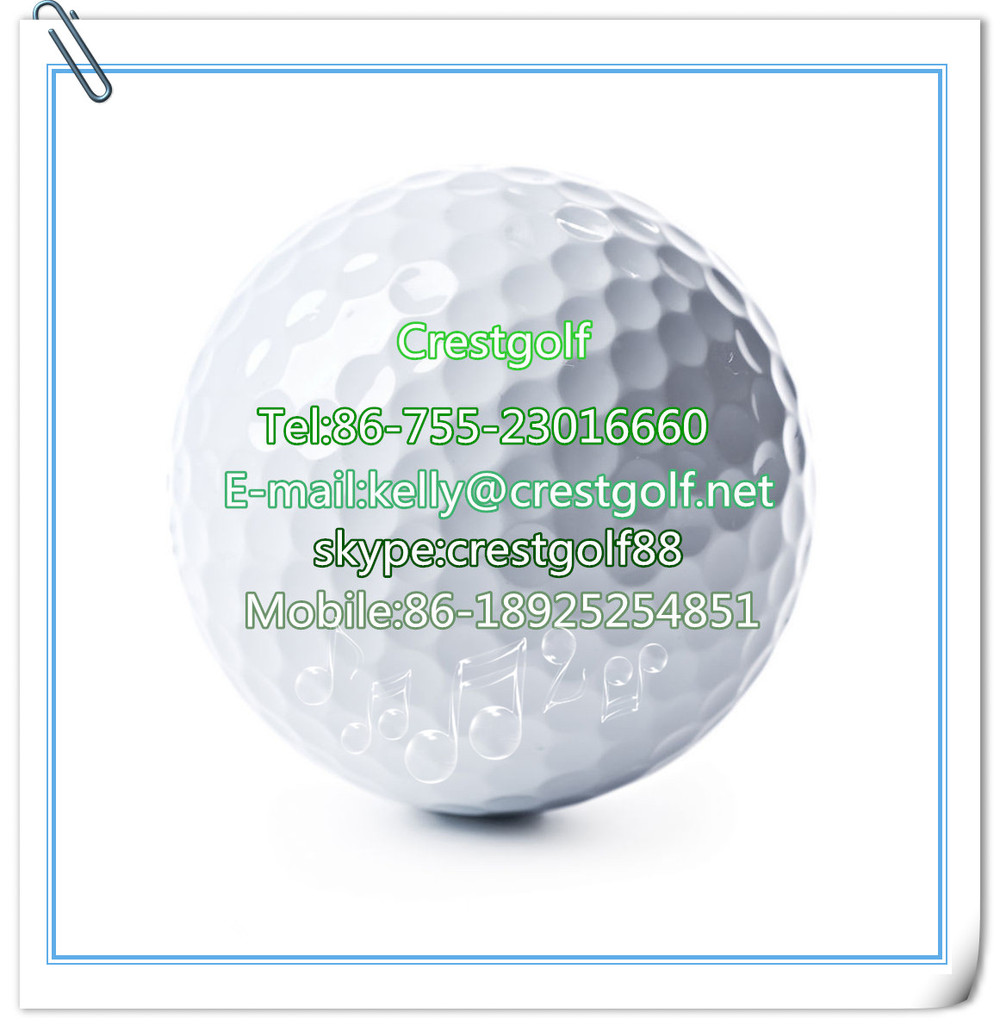 Brand new 2/two piece practice golf balls/drive range ball