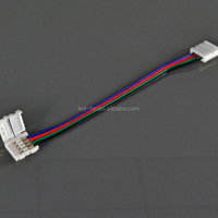Best price PVC plastic dream color rgb led strip digital with connector