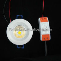 Great popular small size 3w led cob downlight