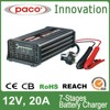 High quality car battery charger 12v 20A,7 stage automatic charging with CE,CB,RoHS certificate