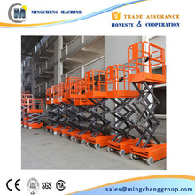 6m telescoping lift articulated lift lift tables