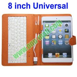 Wired Keyboard Cover for 8 inch Tablets