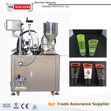 Alta calidad derecho de autor ultrasónico tubo de llenado y sellado de la máquina para Tube crema Gel