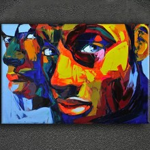 Frame and Stretched modern decor canvas oil paintings for hotel and Bar