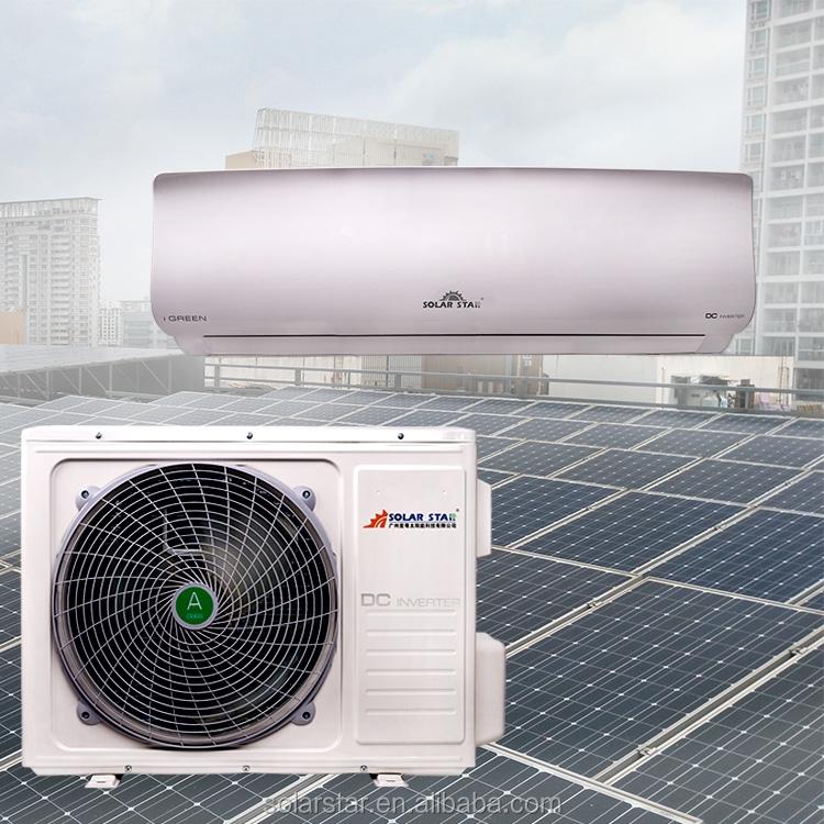 Solar ground source heat pump air conditioner water heater for Ground air conditioner