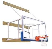 Good Quality Temperd Glass Basketball Backboard, Rim & Pad Package