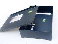 galvanized steel box sheet metal frame laser cutting bending