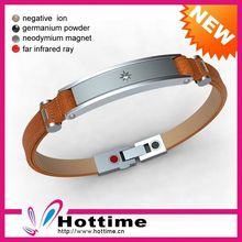 Custom Promotional Leather Thong For Bracelets