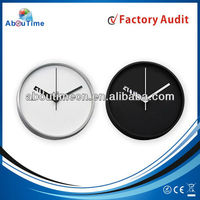 2014 new party decoration wall clock/Colorful wall clock/simple design wall watches