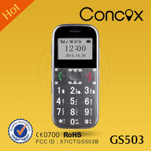 GS503 GPS senior phone large button cell phones for seniors