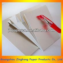 375g ivory board metallic paper