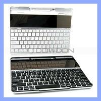 Solar Panel Bluetooth Keyboard for iPad 2 iPad 3 iPad 4
