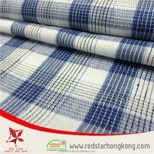 Wholesale check rabbit print cotton fabric