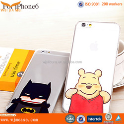 Popular Custom Printing Plastic For IPhone 6 Cell Phone Cases Manufacturer