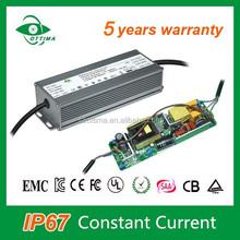 High efficiency led high bar driver 100W led driver IP67 led flash light power supply