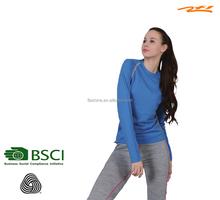 merino wool slim women's sweatshirts/long johns/underwear/sportswear