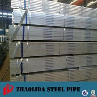 Brand new hot rolled high frequency iron tubo with high quality