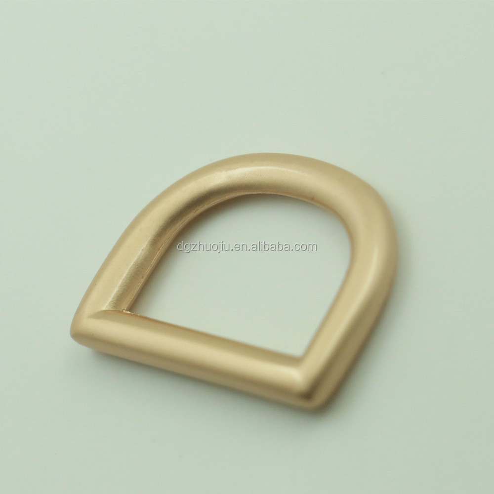 Gold mm d ring metal hardware bag rings