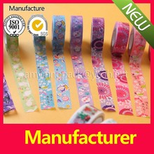 Economy Grade non-critical applications design masking tape washi tape