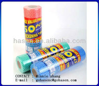 nonwoven disposable mop wipe