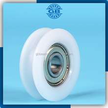 China high quality nylon track wheel garage door bearing rollers