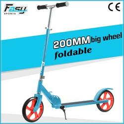 Fasy 200mm Big Wheels Folding Adult Kick Scooter