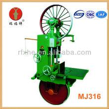MJ316 vertical serra de fita portátil serraria elétrica