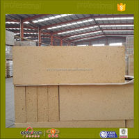 China gold supplier alumina clay block refractory plate