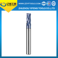 Wholesale carbide 4 flutes rough mill cutter