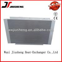 aluminum bar-plate heat exchanger mini air compressor oil/air/water cooler