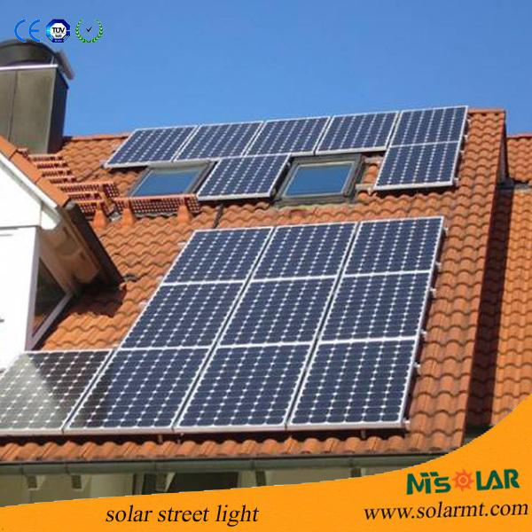 Residential Durable Off Grid 5kw 220v Home Solar Power