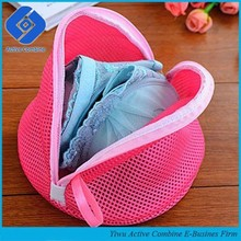 New High Quality Bra Washing Aid Laundry Saver Lingerie Wash Bag Women Blue And Rose Red Color