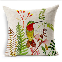 2015 china Wholesale Factory Directly of Alibaba sell well the cheerful singing bird cotton pillow cases