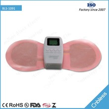 BLS-1091 adjustable massage intensity and time body butterfly massager