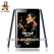 3G Quad Core Dual sim 1G DDR3 tablet pc tablet 3g wifi bluetooth fm gps tv