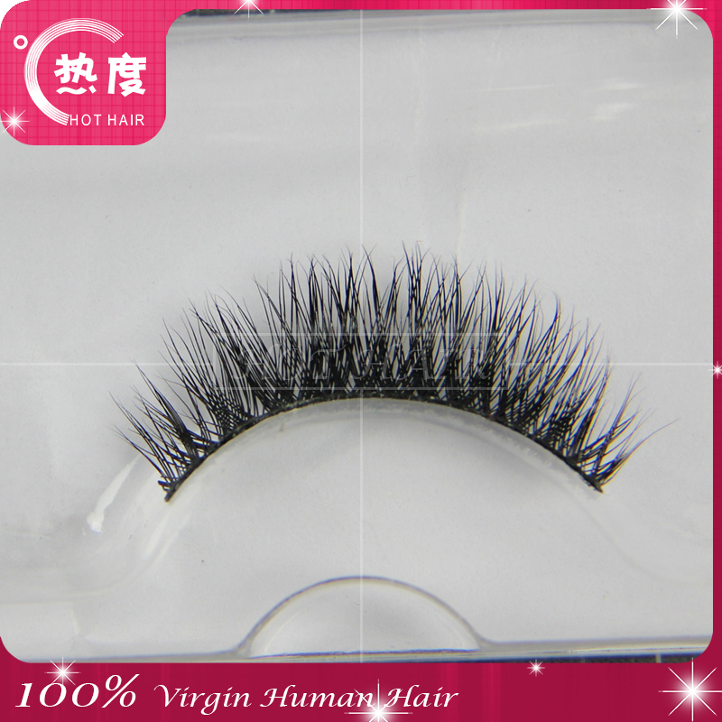 Human Hair Eyelashes 3