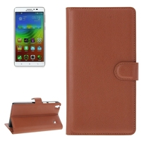 Cheap Price with Card Slots Leather for Lenovo Note 8 Leather Case