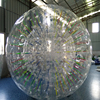 Customize 1.0mm Transparent PVC Inflatable Zorb Ball / Bubble Ball With Colorful Glow
