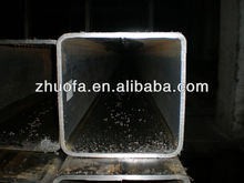 2''x3'' square pipe, Structural steel, galvanized pipe (tube) Thick Carbon Steel Square Pipe hot dip galvanized square pipe