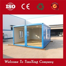 Energy Saving Durable Modular Living low cost warehouse with office